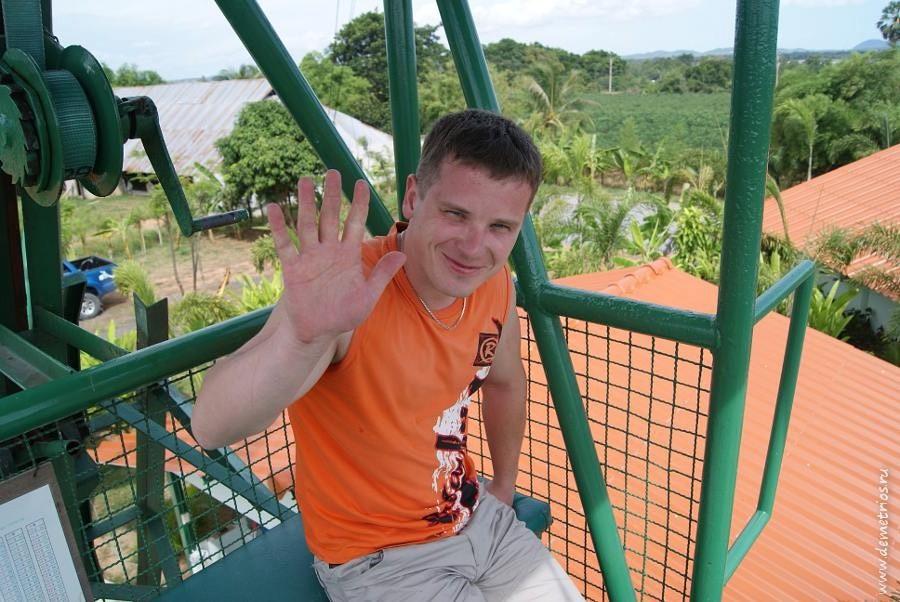 Pattaya Bungy Jump Тарзанка