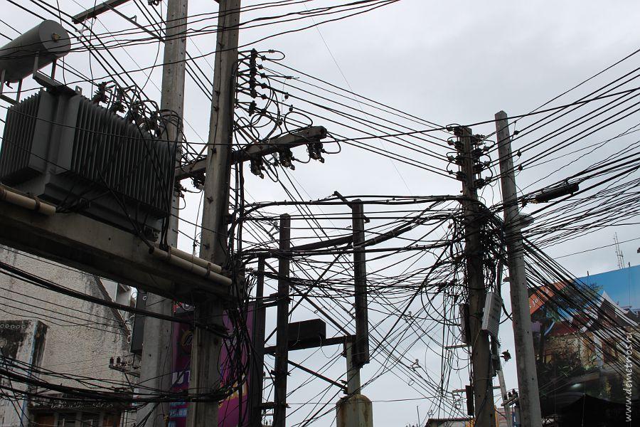 Pattaya wires Паттайя Провода