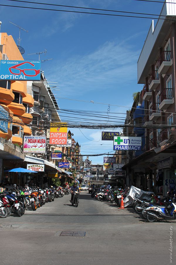 Мотоциклы на Pattaya Beach Road