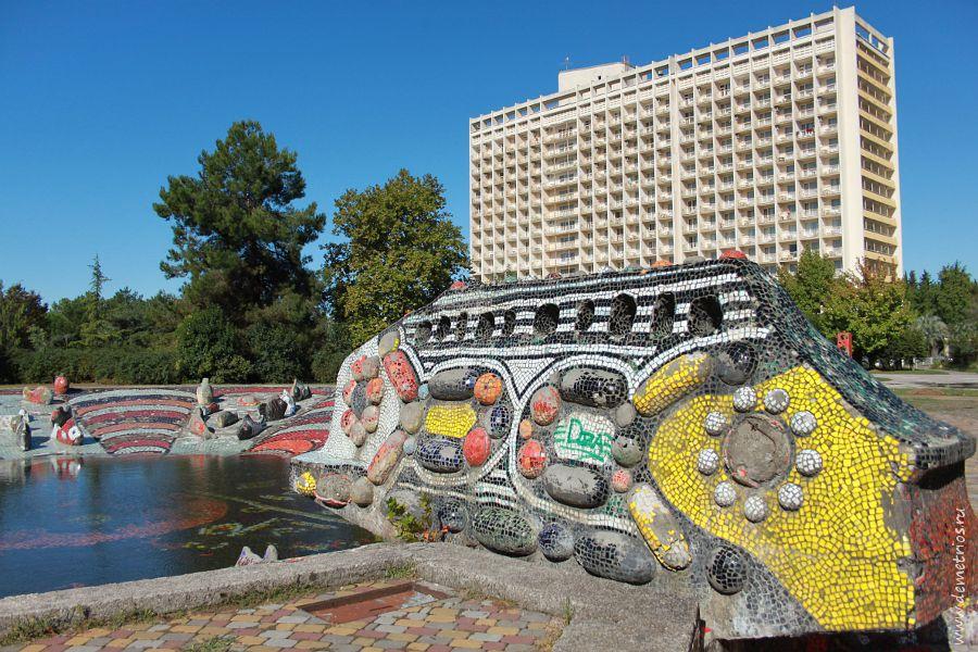 Элементы декора советской эпохи в Адлере