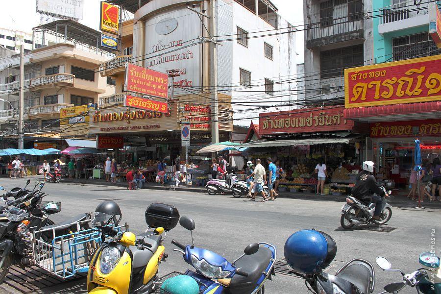 Фрукты овощи на South Pattaya Road