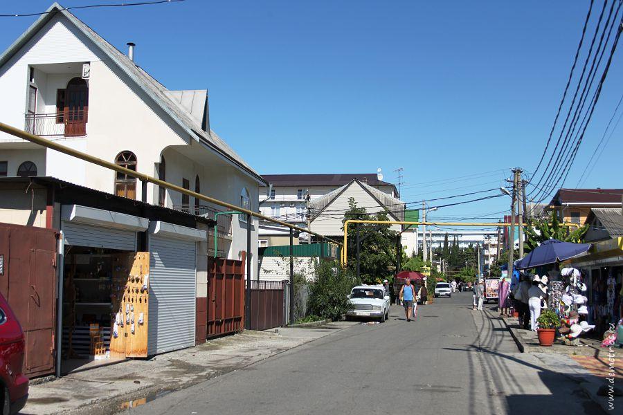 Улицы в Адлере