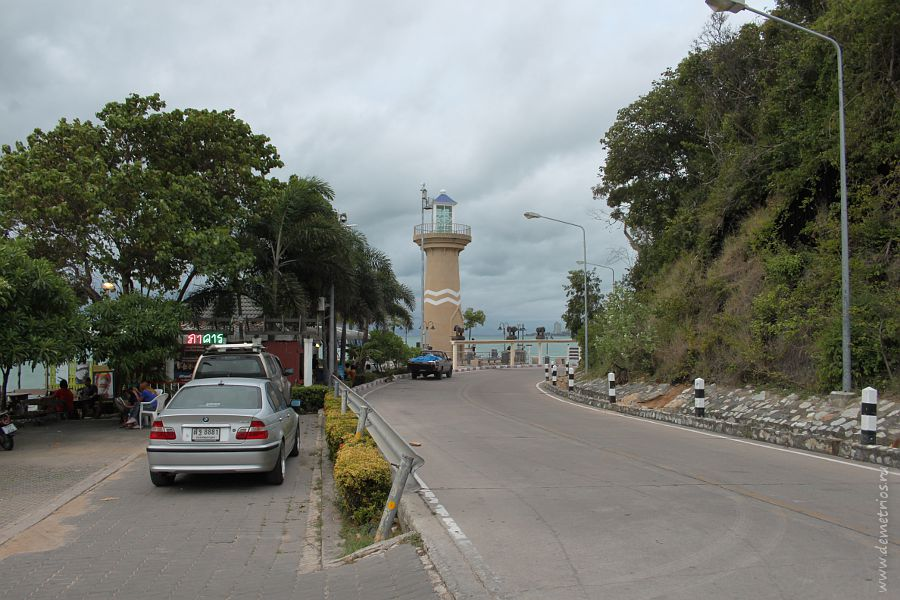 Pattaya Lighthouse Паттайя маяк