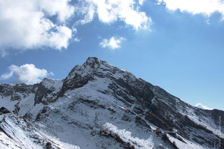 Вершина горы на Красной Поляне