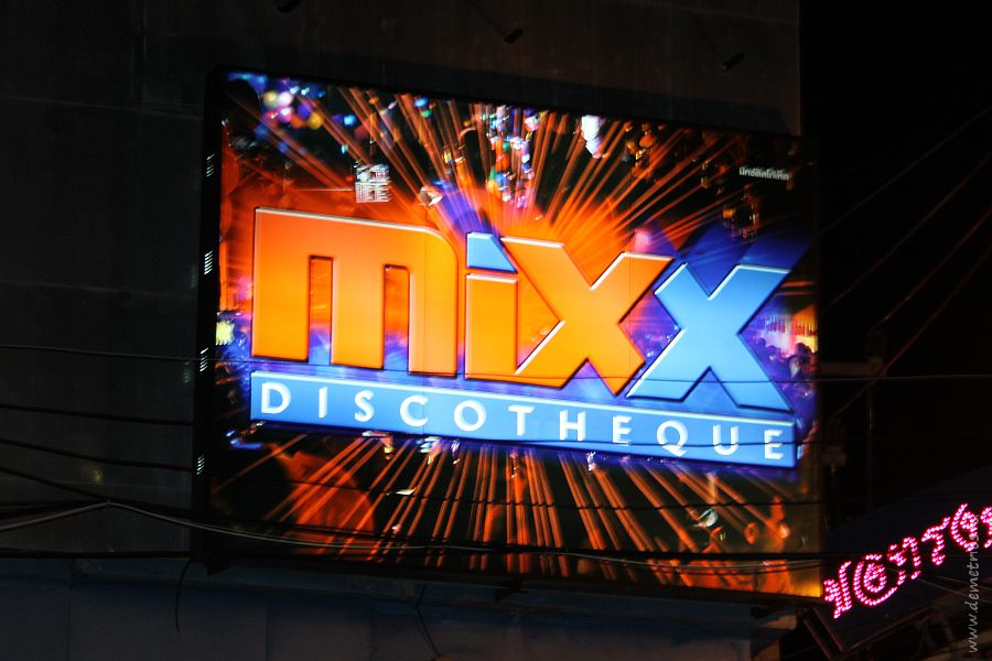 Night Club MIXX Pattaya Walking Street