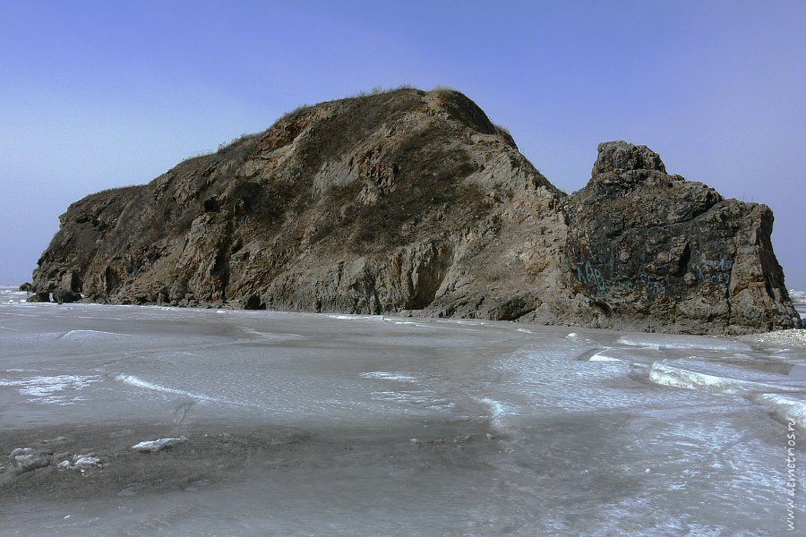 Остров Скребцова. Вид с восточной стороны.