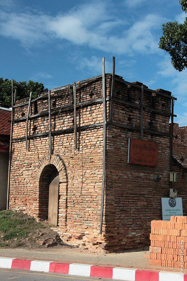 Южные ворота Старого Города в Чианг Мае Chiang Mai Gate