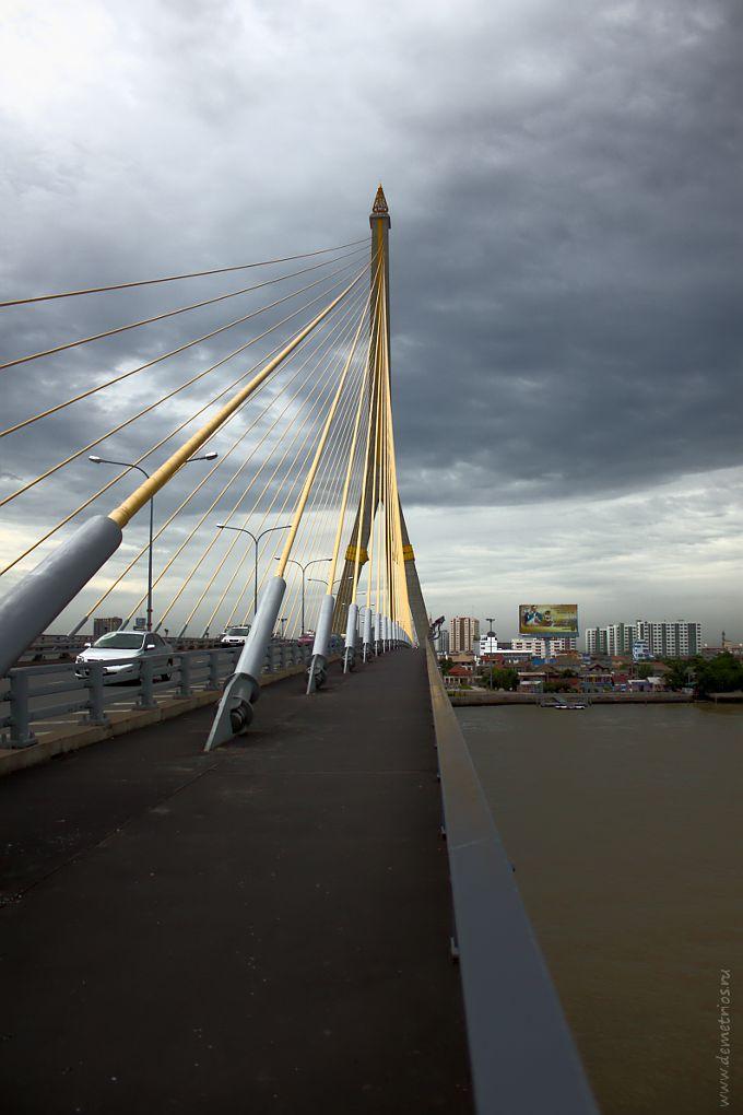 Мост Рама VIII через реку Чао Прайя, Бангкок