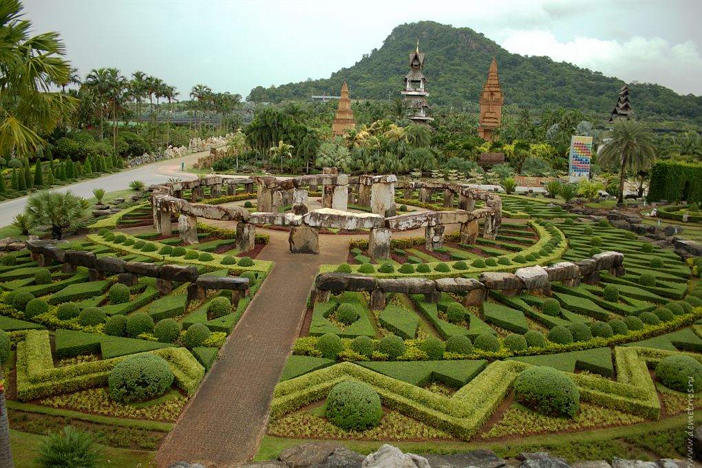 Парк Ноннг Нуч (Nong Nooch), Паттайя