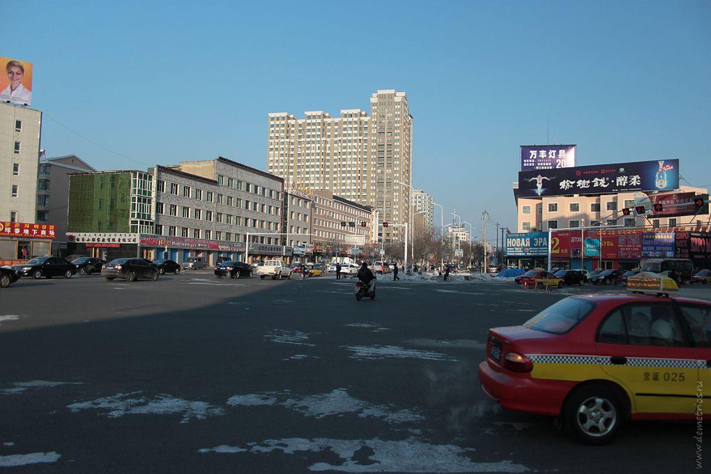 Хуньчунь. Одна из улиц