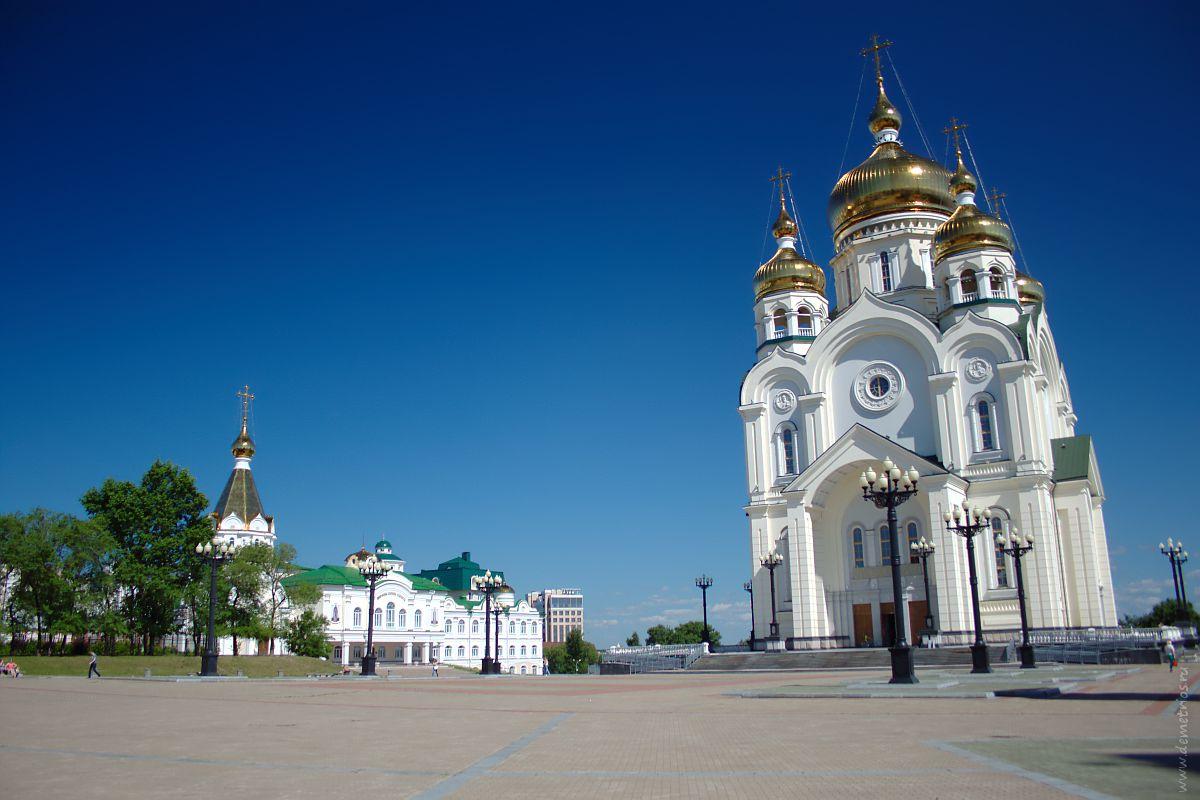 Площадь Славы. Хабаровск
