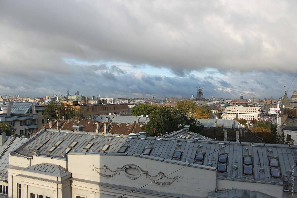 Крыши Москвы Moscow rooftops