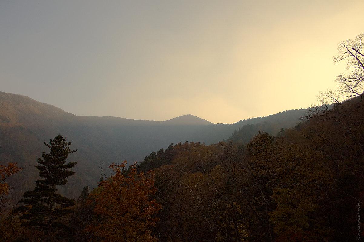 Вид на гору Фалаза из Грибановки