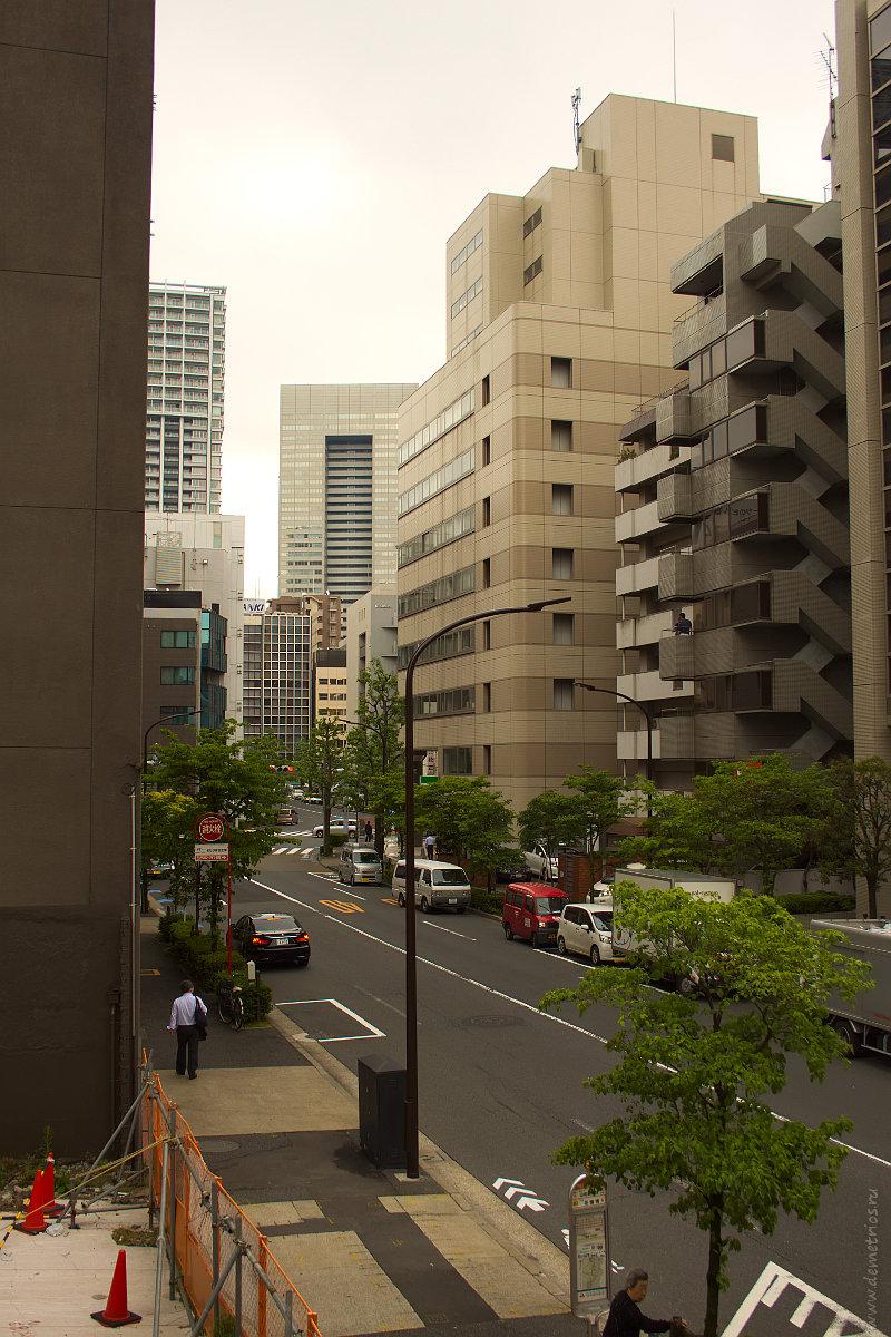 Утренние улицы Токио. Tokyo streets in the morning