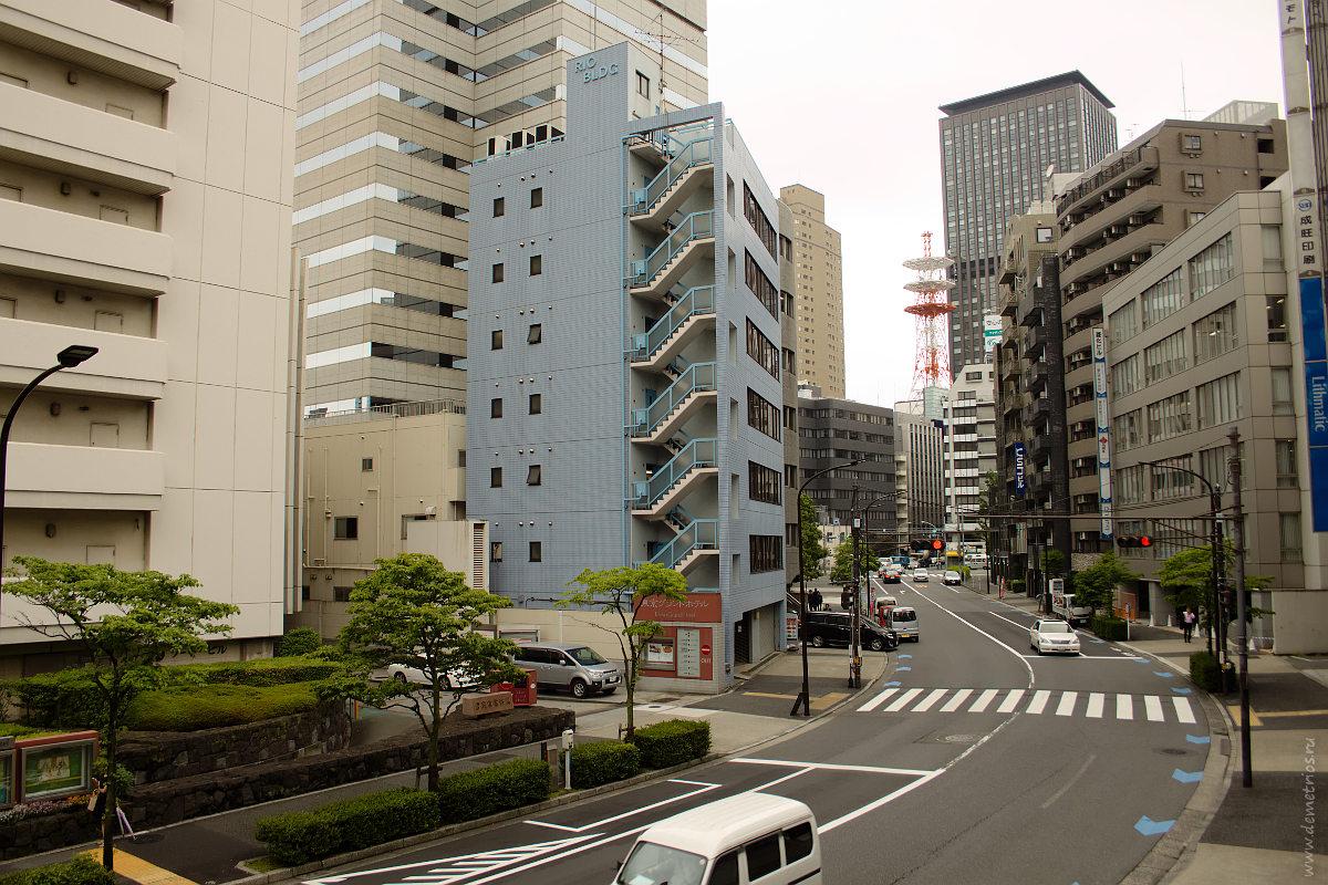 Утренний Токио. Tokyo in the morning