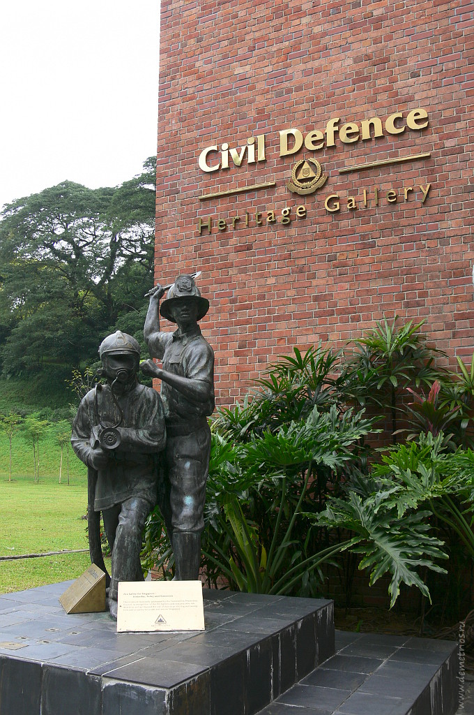Галерея наследия гражданской обороны Сингапура, Singapore Civil Defence Heritage Gallery