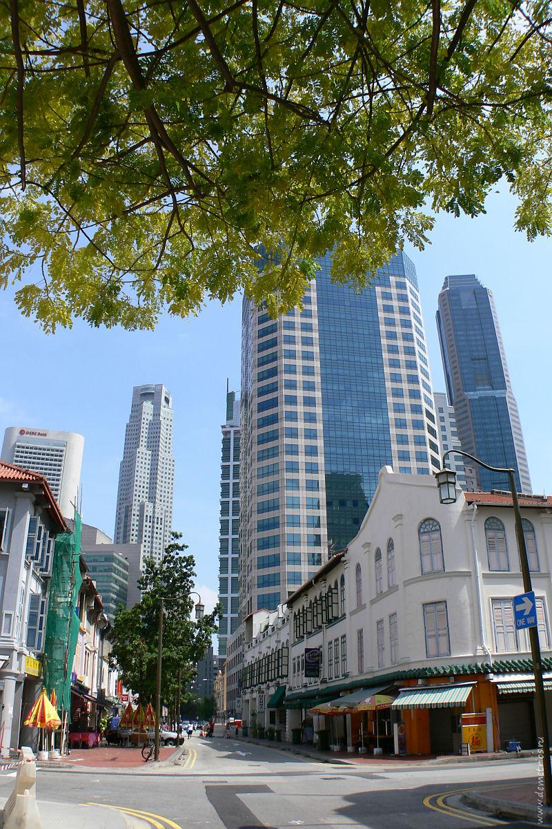 Сингапур. Чайнатаун. Singapore Chinatown