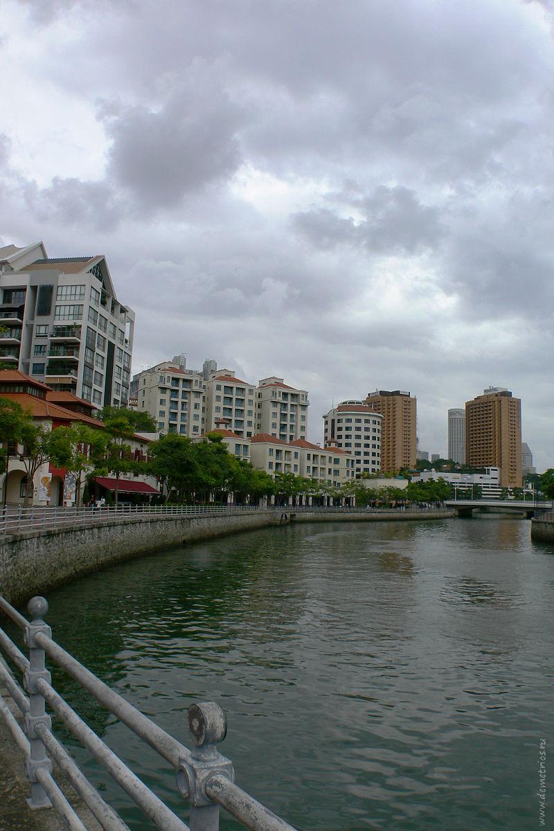 Robertson Quay. Singapore. Сингапур