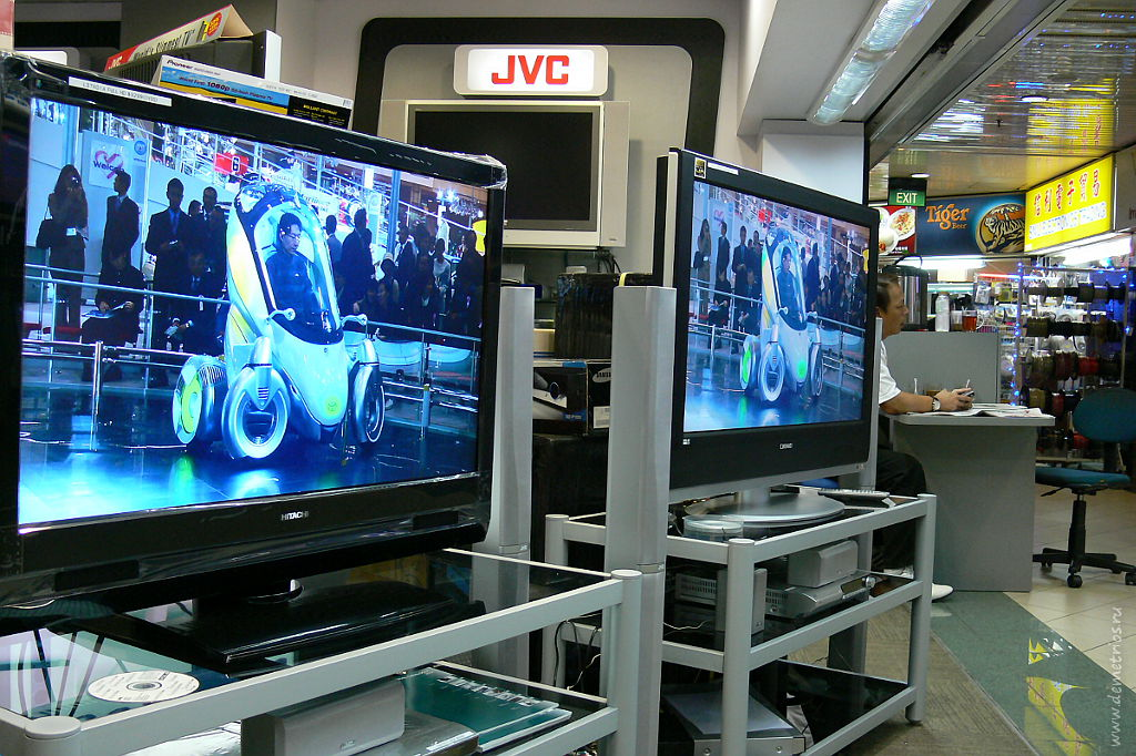 Сингапур. Электроника в SIM LIM. Singapore, electronics
