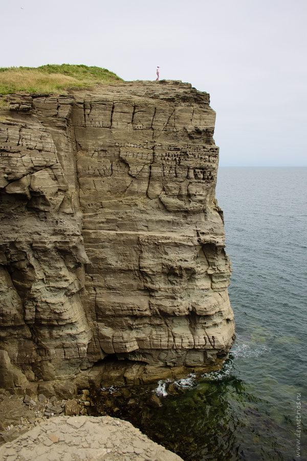 Скалы полуострова Тобизина, Остров Русский, Tobizin Cape rocks, Russkiy Island