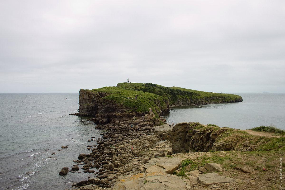 Мыс Тобизина, Остров Русский, Tobizin Cape, Russkiy Island