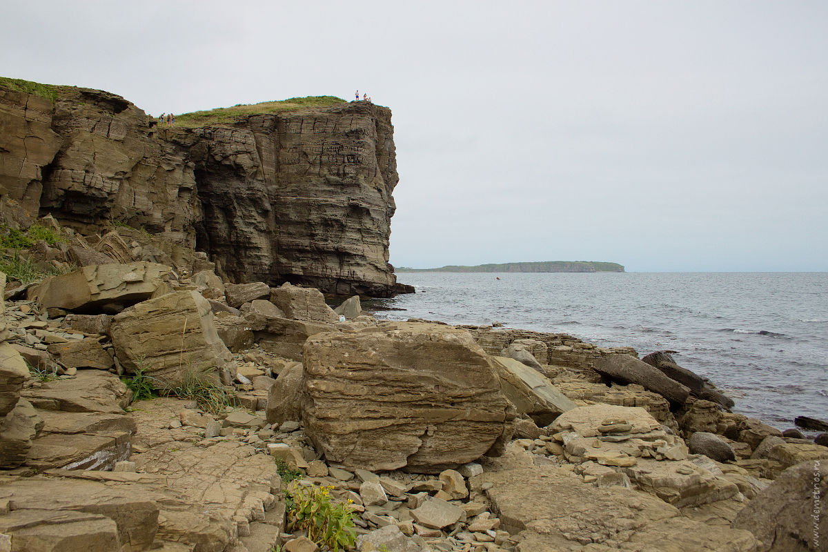 Камни полуострова Тобизина, Остров Русский, Tobizin Cape stones, Russkiy island