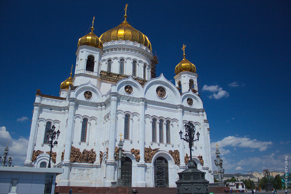 Храм Христа Спасителя, Моссква