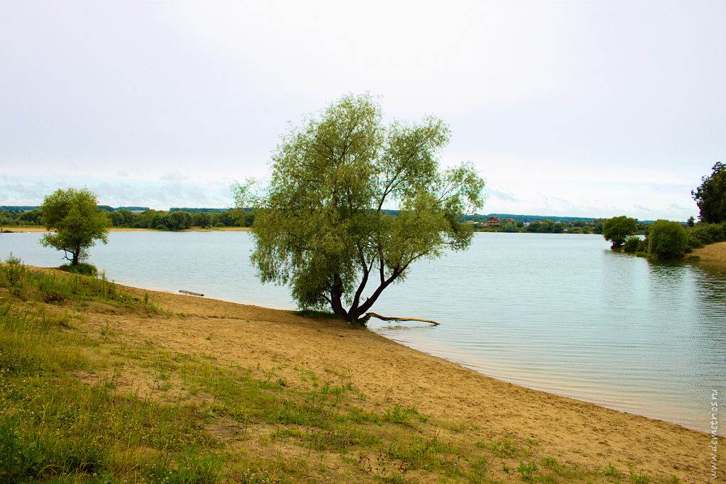 Протвино Озеро Карьер