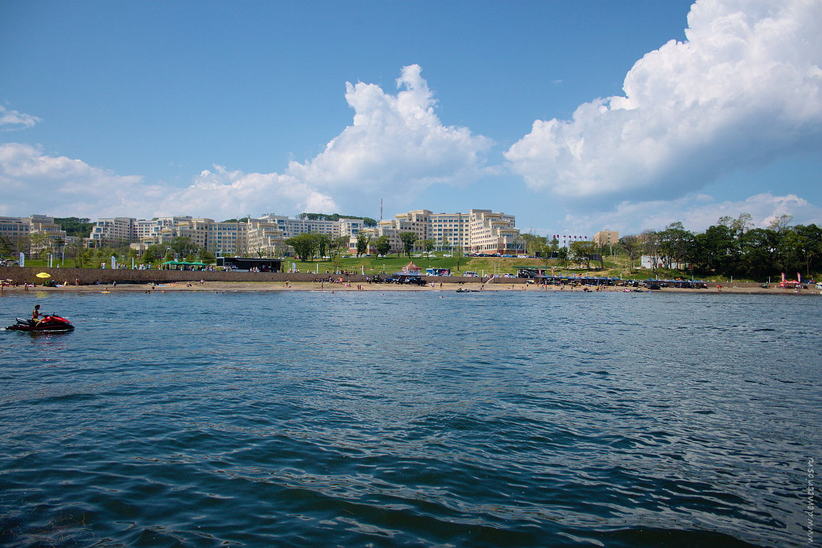 ДВФУ, берег, пляж, Владивосток. FEFU, seashore, beach, Vladivostok