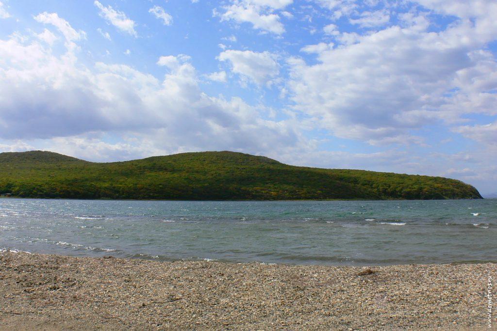 Бухта Алексеева на острове Попова, Приморский край