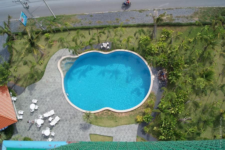 Swimmong pool Pattaya Bungy Jump Бассейн Тарзанки