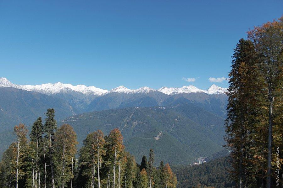 Красная поляна: Горы Северного Кавказа