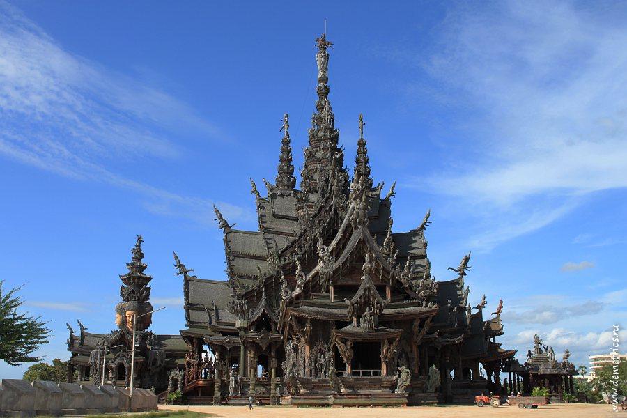 Храм Истины, Sanctuary of Truth, Wang Boran, Pattaya, Паттайя