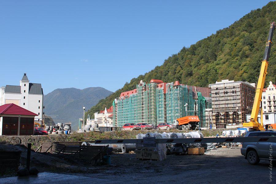 Строительство отелей в Красной Поляне