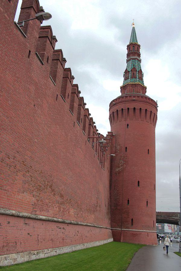 Беклемишевская башня, Мокворецкая башня, Кремль, Москва