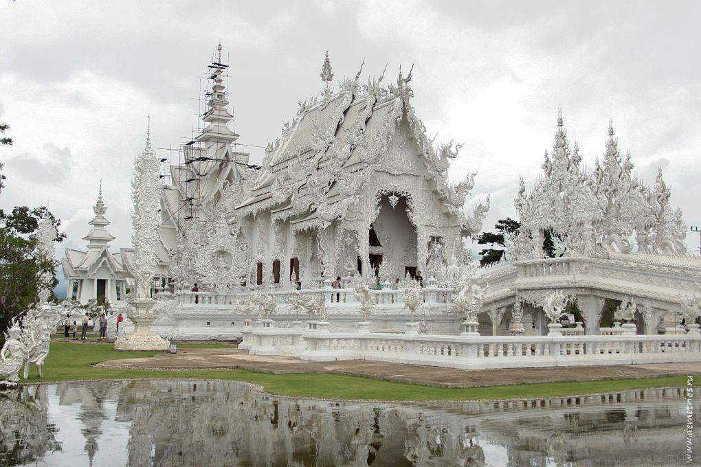 Чианг-Рай. Белый храм Wat Rong Khun