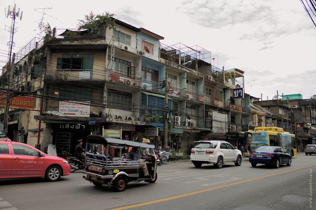 Бангкок, Район улиц Samsen