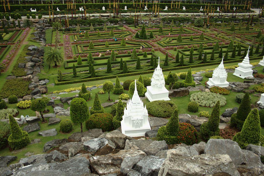 Сад Нонг Нуч (Nong Nooch Garden), Паттайя