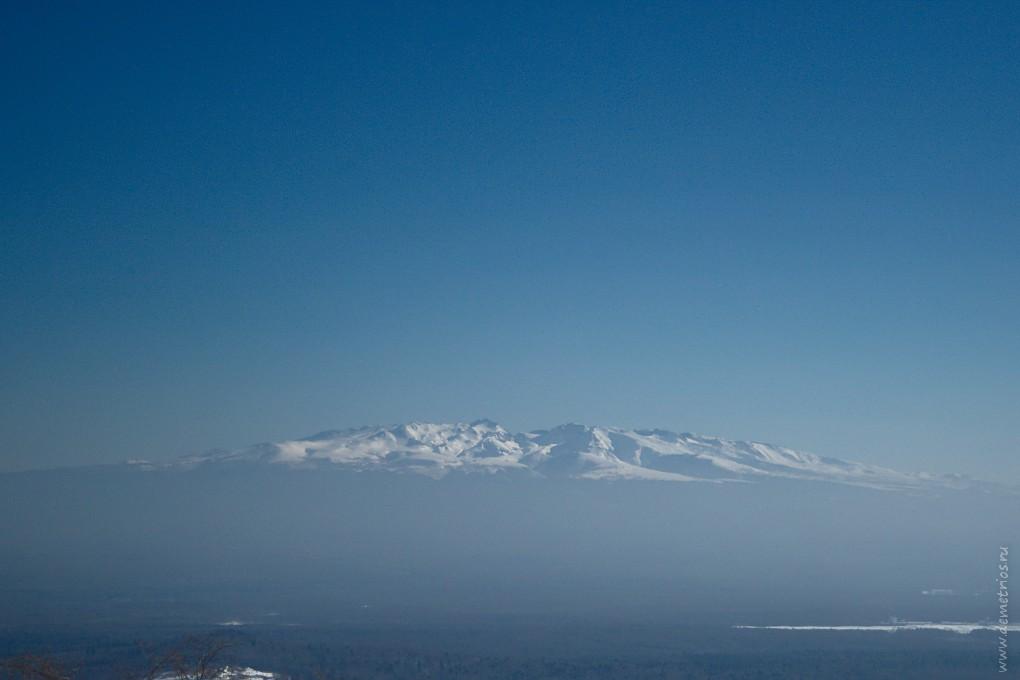 Гора Чанбайшань