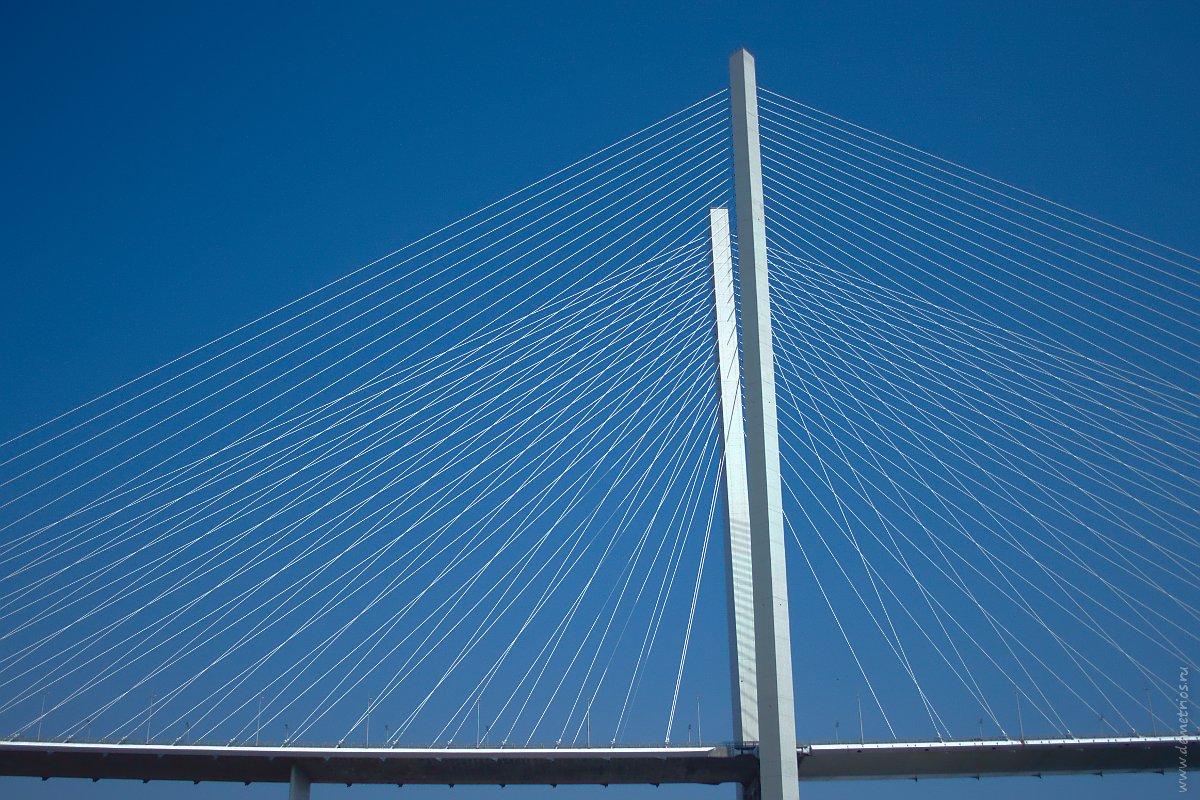 Владивосток. Золотой мост через бухту 'Золотой Рог'