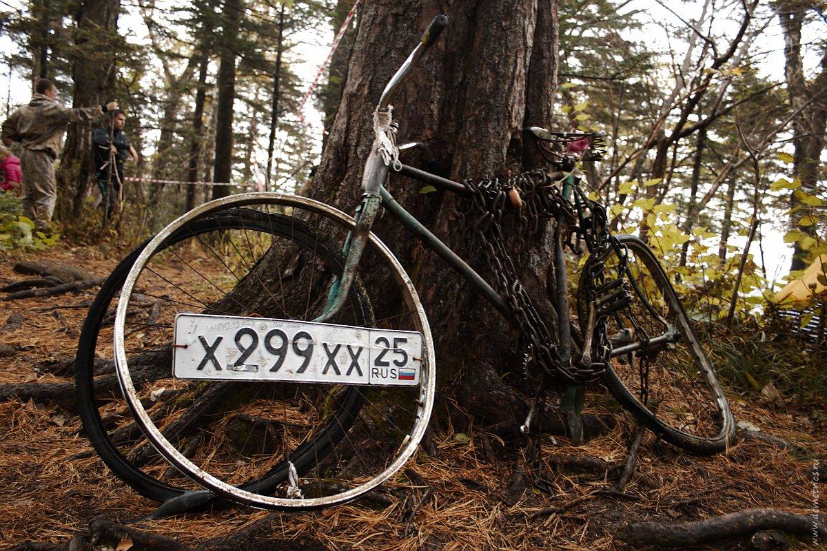 Пидан. Гора Ливадийская. Велосипед на Пидане