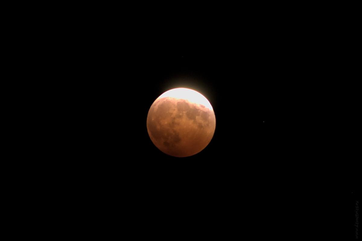 лунное затмение moon eclipse Владивосток Vladivostok 8.10.2014