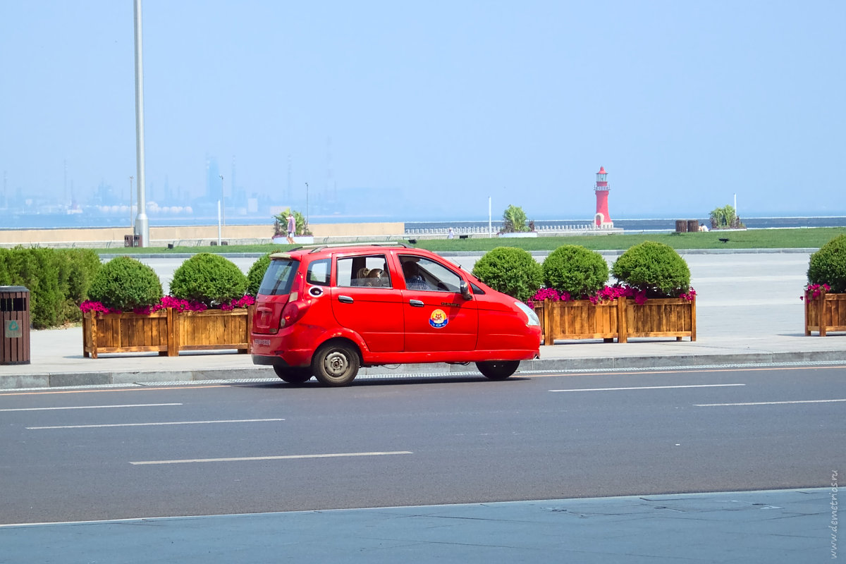 Дялянь, такси, моторикша