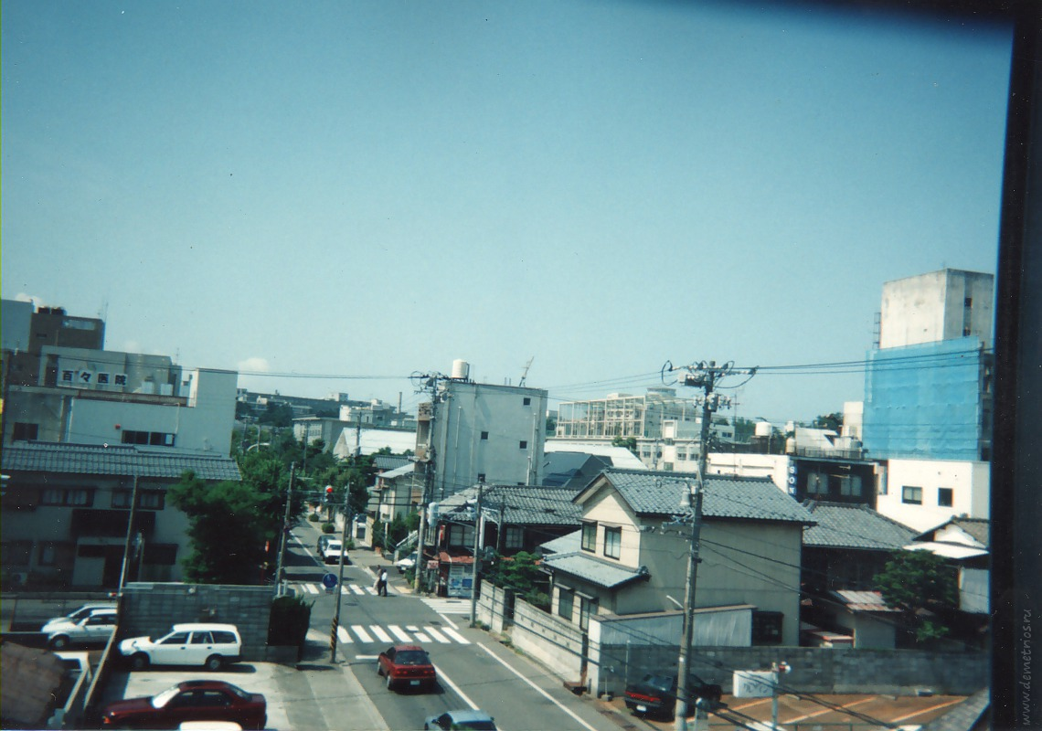 Niigata 1994, Ниигата 1994 год,  street, улица