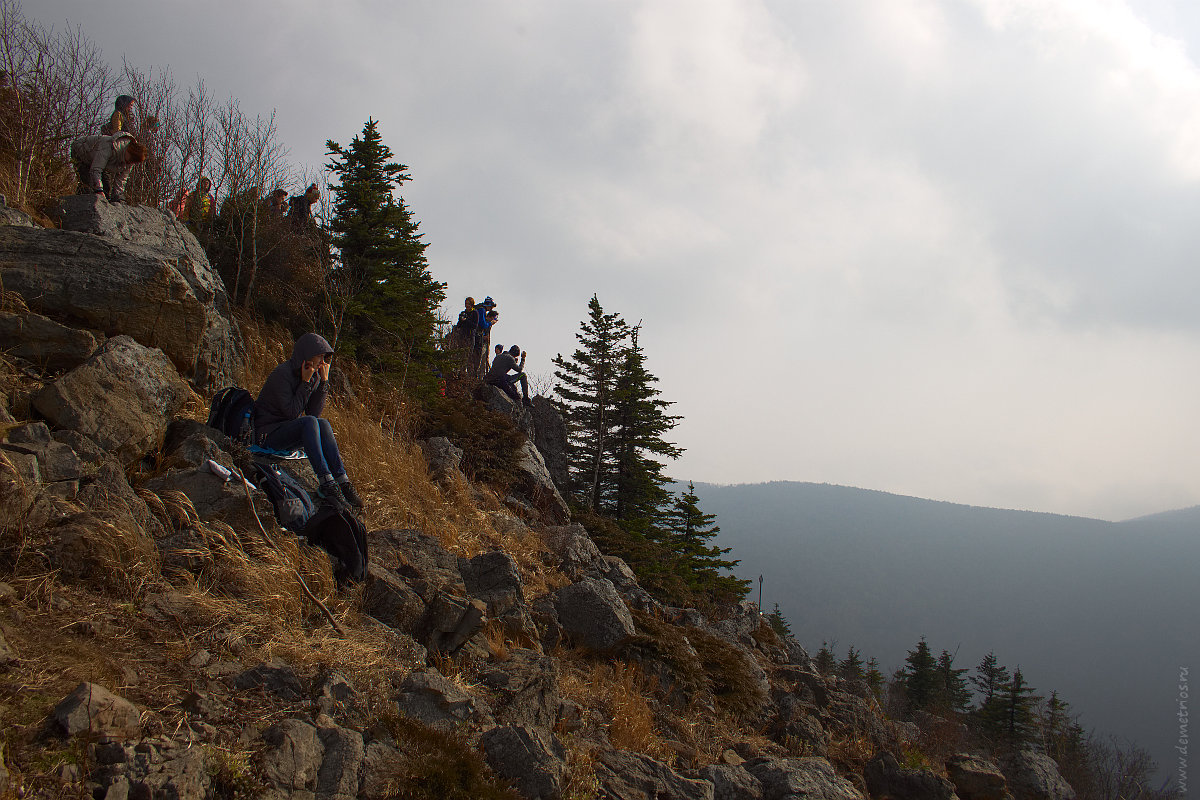 На вершине Фалазы. On Falaza mountain top