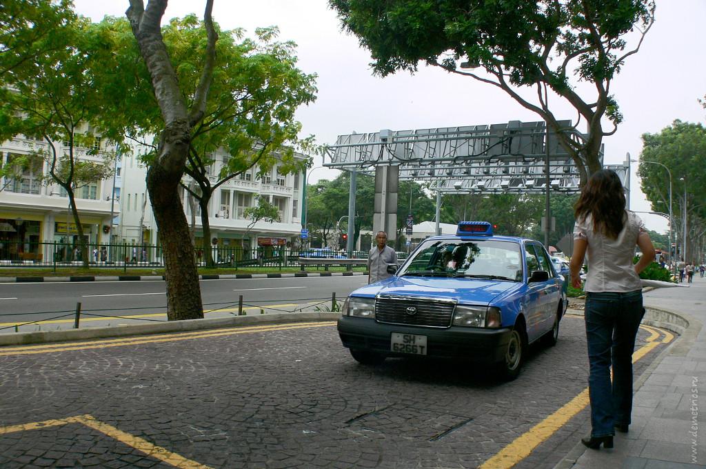 Такси в Сингапуре, Singapore taxi