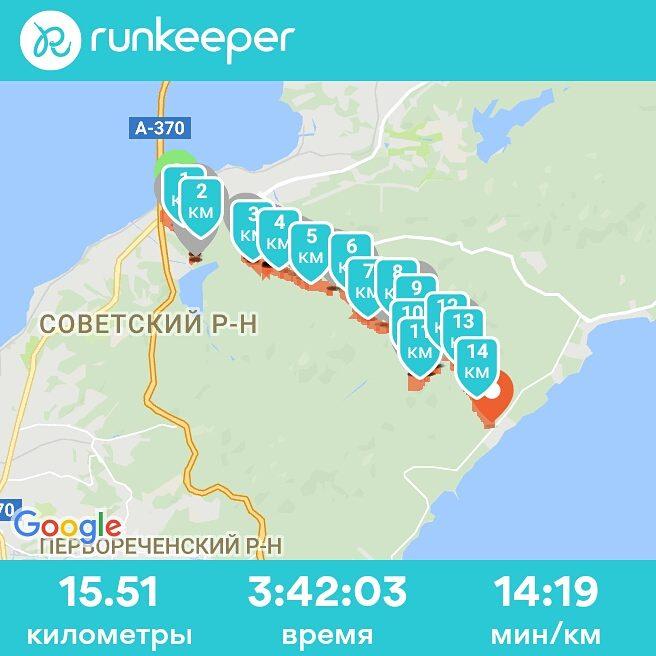 GPS-трек похода, полуостров Муравьева-Амурского, Владивосток, hike, gps-track