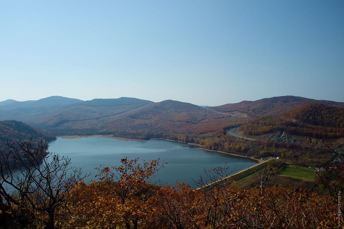 """гора """"Роза ветров"""", Седанкинское водохранилище, Владивосток"""