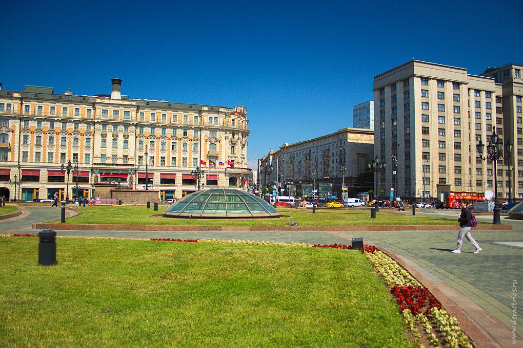 Москва. Манежная площадь