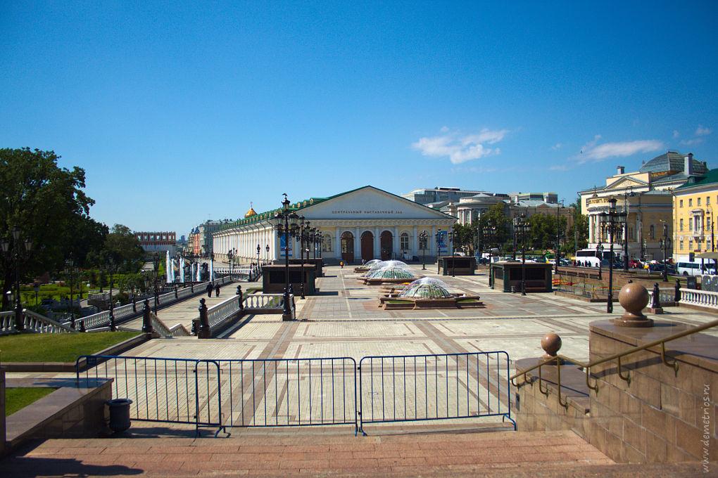 Москва. Манеж